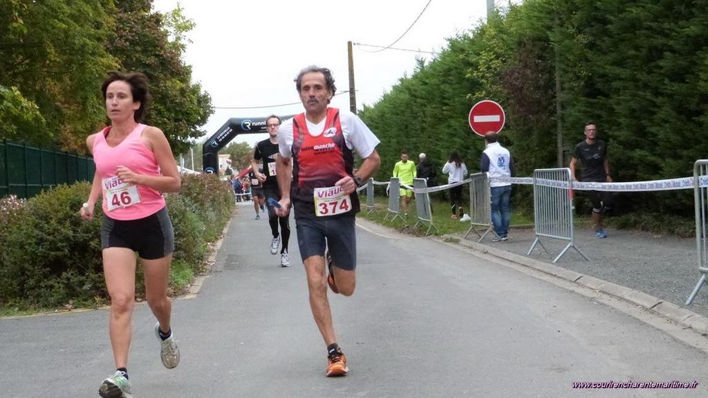 Relais de la pomme   Merci J Letrut et courir en Charente Maritime